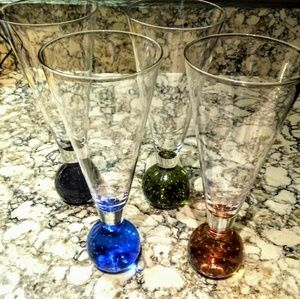 Accents - Glass Ball Beer Glasses